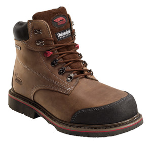 Crazy Horse Leather Waterproof EH Comp Toe High Heat Outsole Work Boot