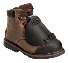 Crazy Horse Leather Waterproof EH Comp Toe High Heat Outsole Work Boot with Met Guard