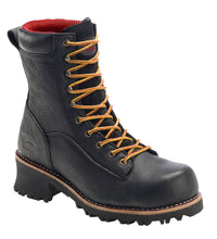 "Logger Black Composite Toe EH PR WP 10"" Work Boot"