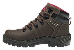 "Foundation Brown Met 6"" Carbon Toe WP PR Work Boot"