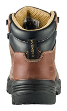 "Women's Foundation Brown Carbon Toe EH PR WP 6"" Work Boot"
