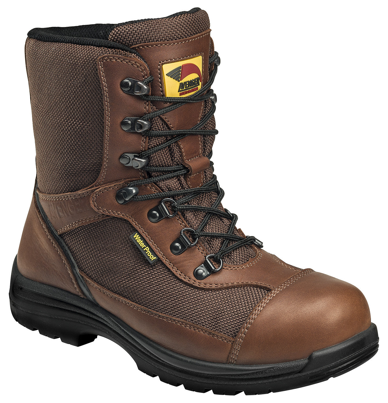 Insulated  Waterproof Comp Toe EH Slip Resistant Work Boot