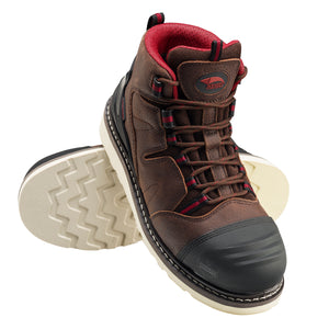 "Wedge 6"" Leather Nanofiber Comp Toe Waterproof EH Boot"