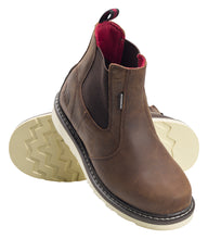 Wedge Chelsea Mid Soft Toe Waterproof Work Boot