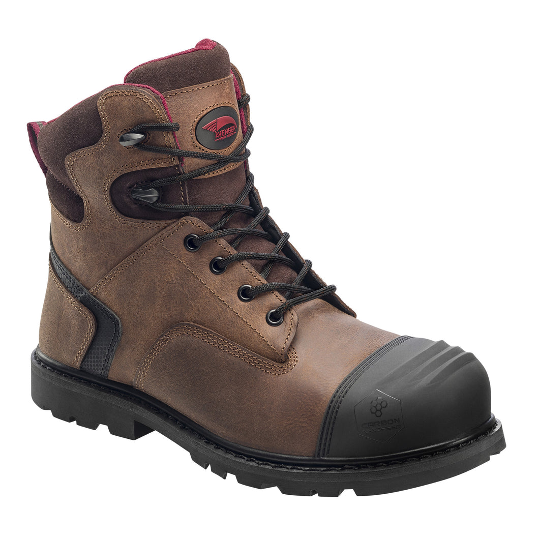 Carbon Nanofiber Comp Toe No Exposed Metal EH Slip Resistant Boot