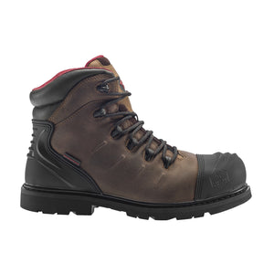 "6"" Leather Carbon Nanofiber Comp Toe Waterproof Puncture Resistant EH Slip Resistant Boot"
