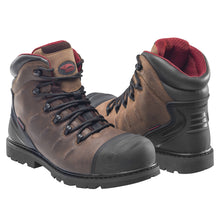 "Hammer Brown Carbon Toe EH PR WP 6"" Work Boot"