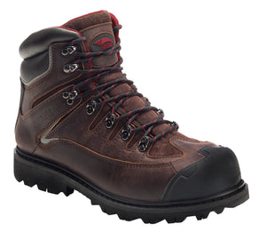 "6"" Leather Waterproof Comp Toe EH Rugged Work Boot"