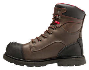 "Hammer Brown Carbon Toe EH PR WP Insulated 8"" Work Boot"