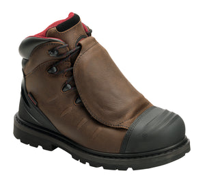 "Hammer Brown Met Guard EH PR WP 6"" Work Boot"