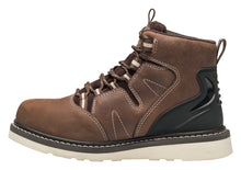 "Wedge Brown Soft Toe EH PR WP 6"" Work Boot"