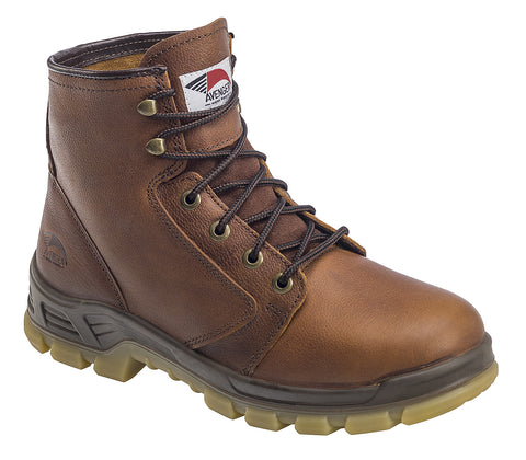 Leather Built In USA Soft Toe EH  Work Boot