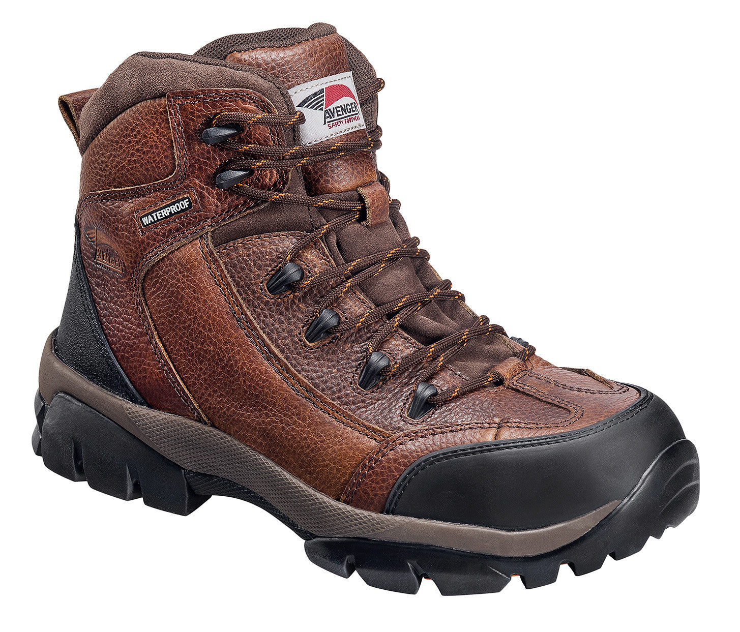 Leather Waterproof Soft Toe No Exposed Metal EH Work Boot