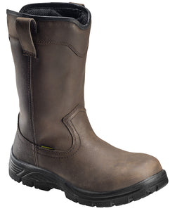 "11""  Waterproof Pull On Wellington Soft Toe EH Work Boot"
