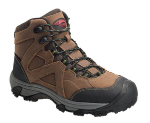"Crosscut 6"" All-Leather Steel Toe Waterproof Work Boot"