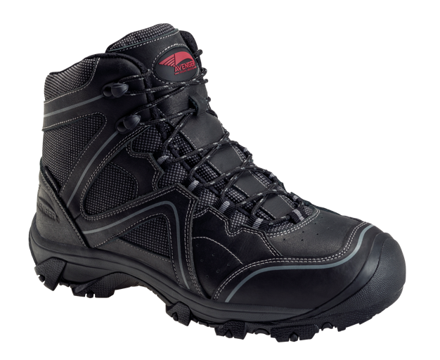 Crosscut Black Steel Toe EH PR WP 6