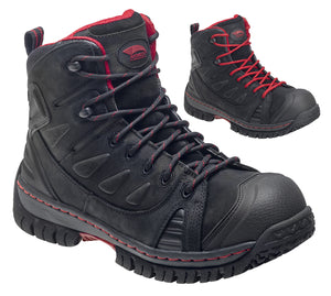 Waterproof Leather Safety Toe EH Hiker double boot