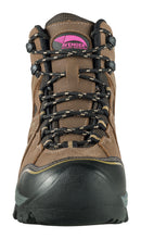 "Women's Crosscut Brown Steel Toe EH PR WP 6"" Work Boot"