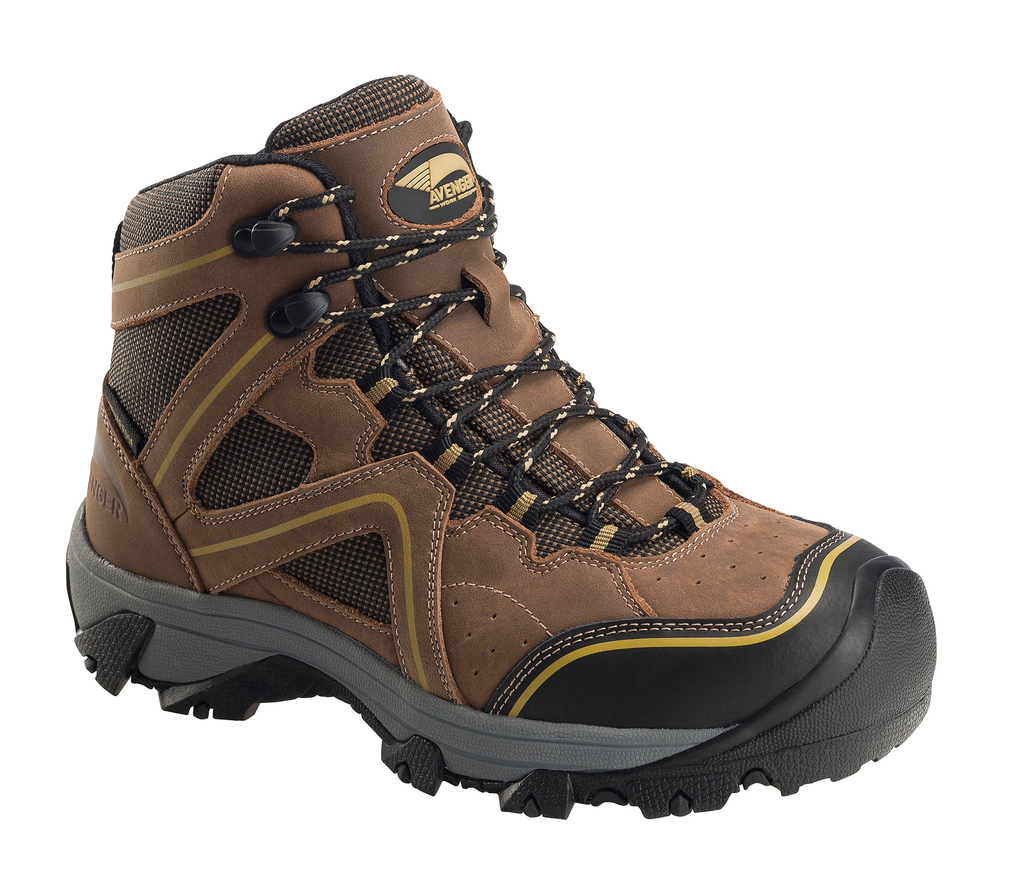 Women's Crosscut Brown Steel Toe EH PR WP 6