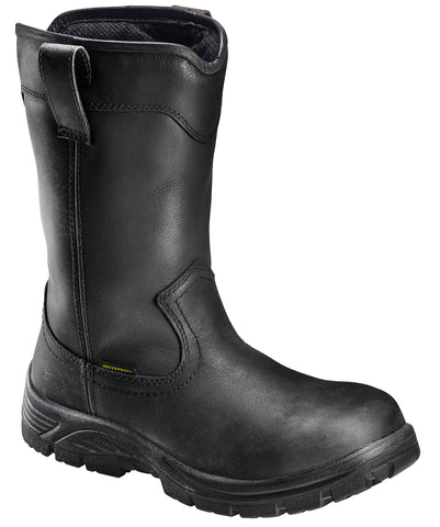 "11"" Comp Toe Waterproof Pull On Wellington EH Work Boot"