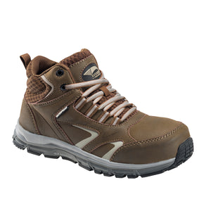 Women's Thresher Brown Alloy Toe EH WP Work Shoe