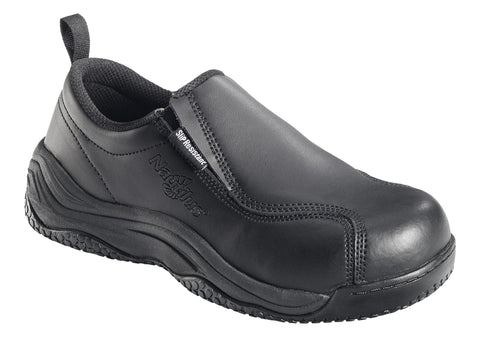 Slip Resistant Comp Toe No Exposed Metal Slip On