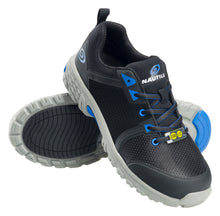 Zephyr Black Alloy Toe SD10 Athletic Work Shoe