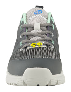 Women's Zephyr Grey Alloy Toe SD10 Athletic Work Shoe