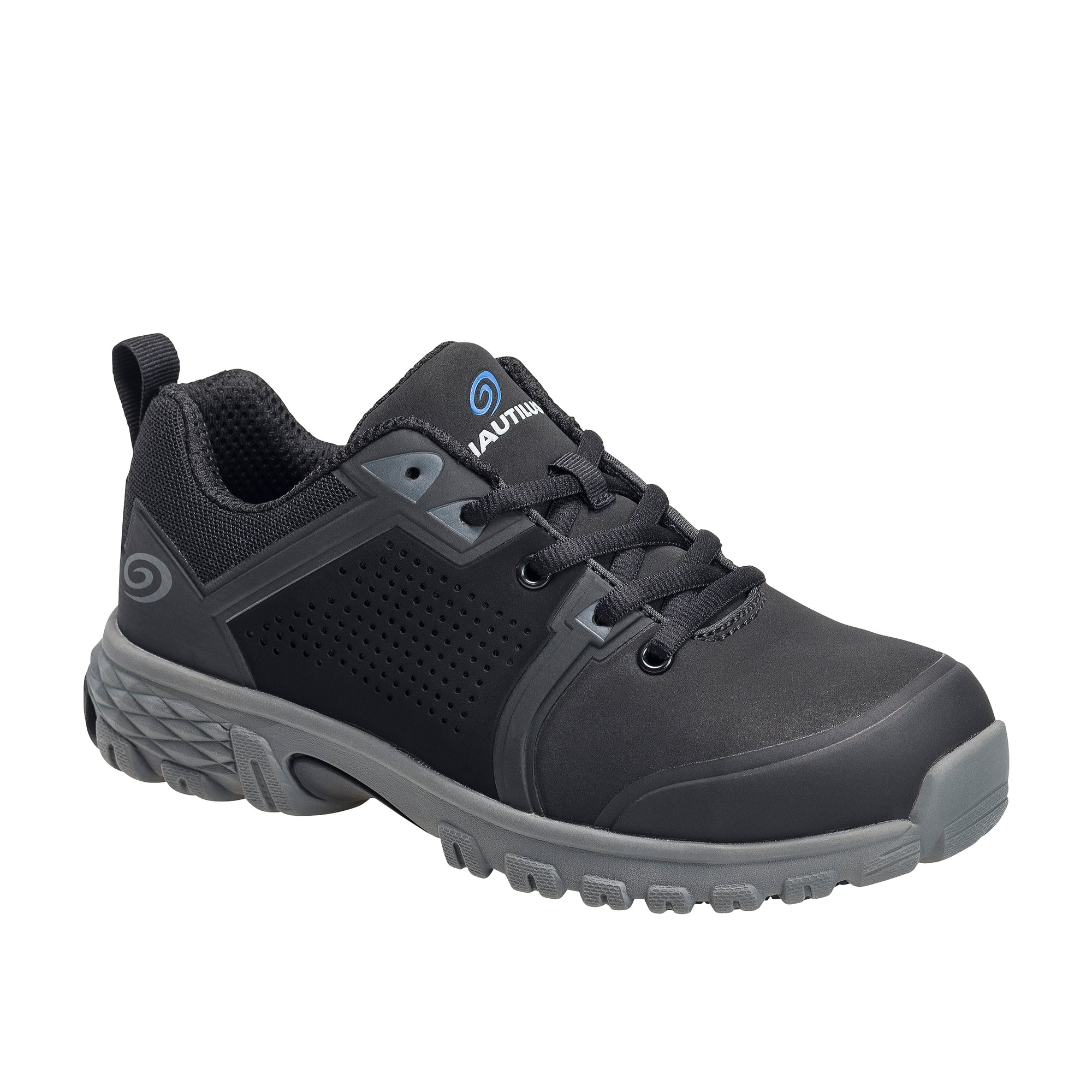 Women's Zephyr Black Alloy Toe SD10 Athletic Work Shoe