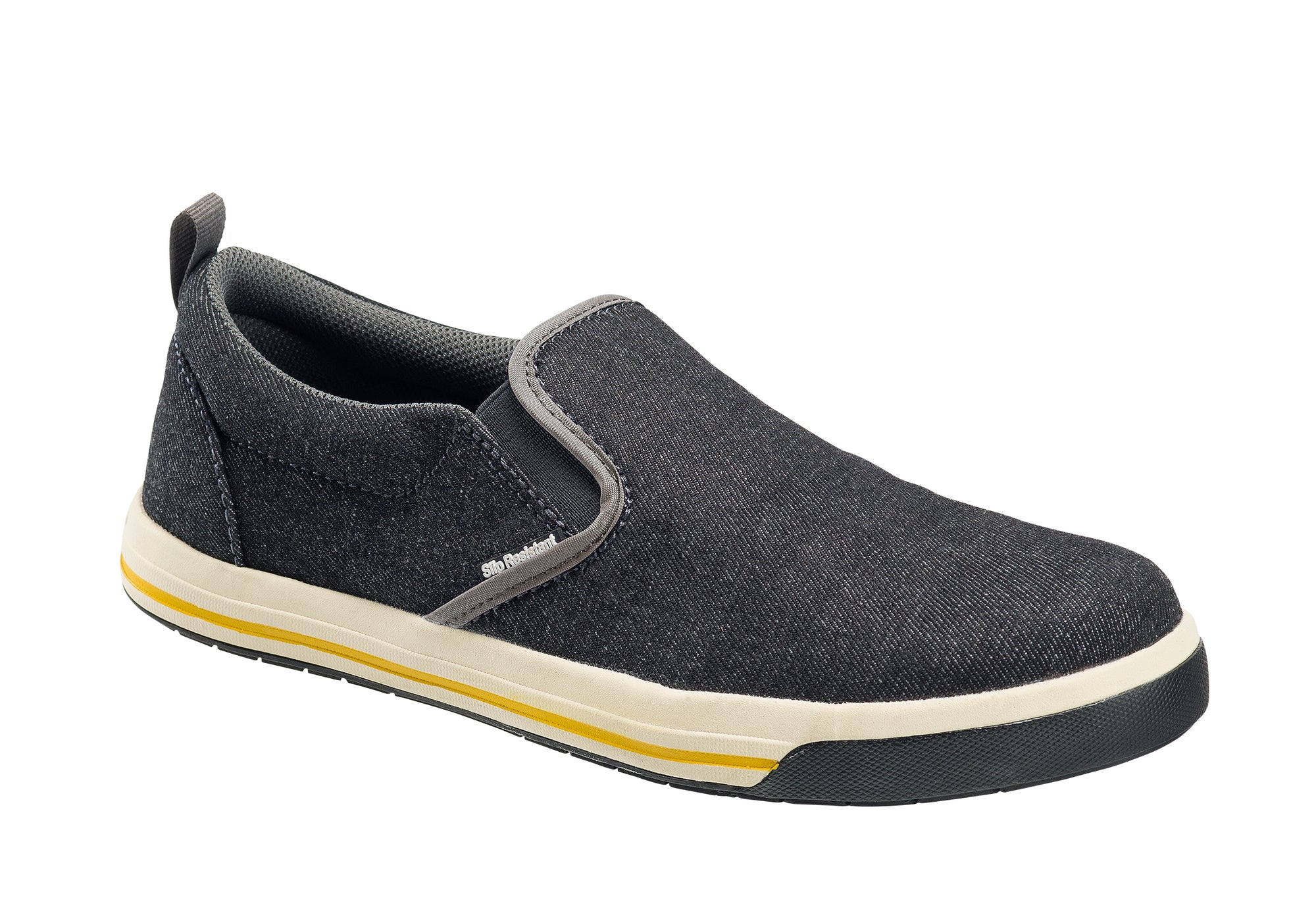 Westside Black Steel Toe SD10 Slip On Work Shoe