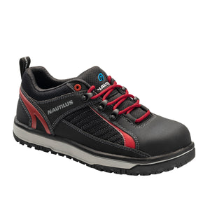 Urban Black Alloy Toe EH Athletic Work Shoe
