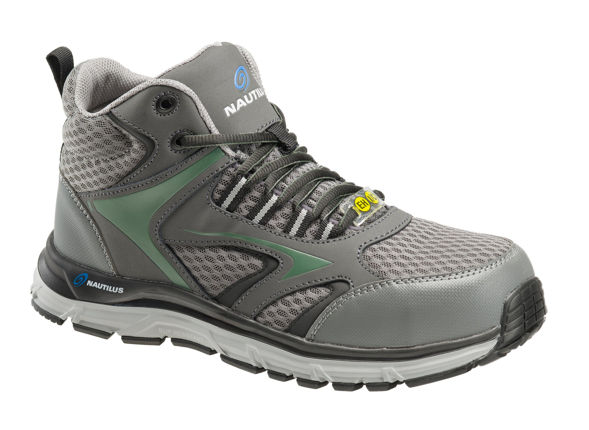 Tempest Grey Alloy Toe EH WP Mid-Athletic Work Shoe