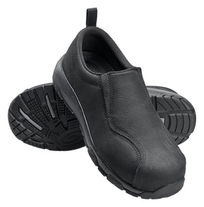 Women's Black Carbon Toe SD10 Slip On Work Shoe