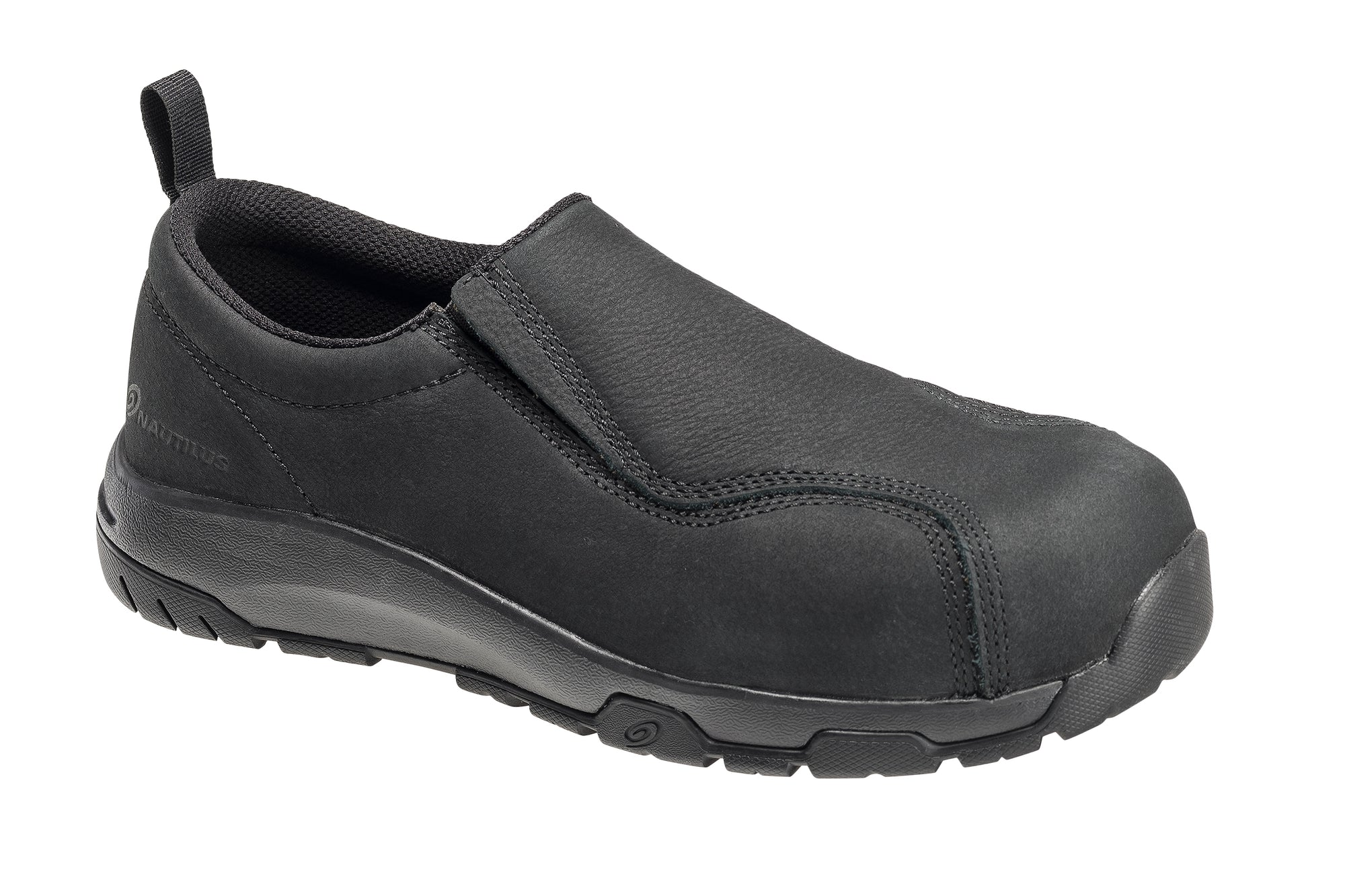 Black Carbon Toe SD10 Slip On Work Shoe