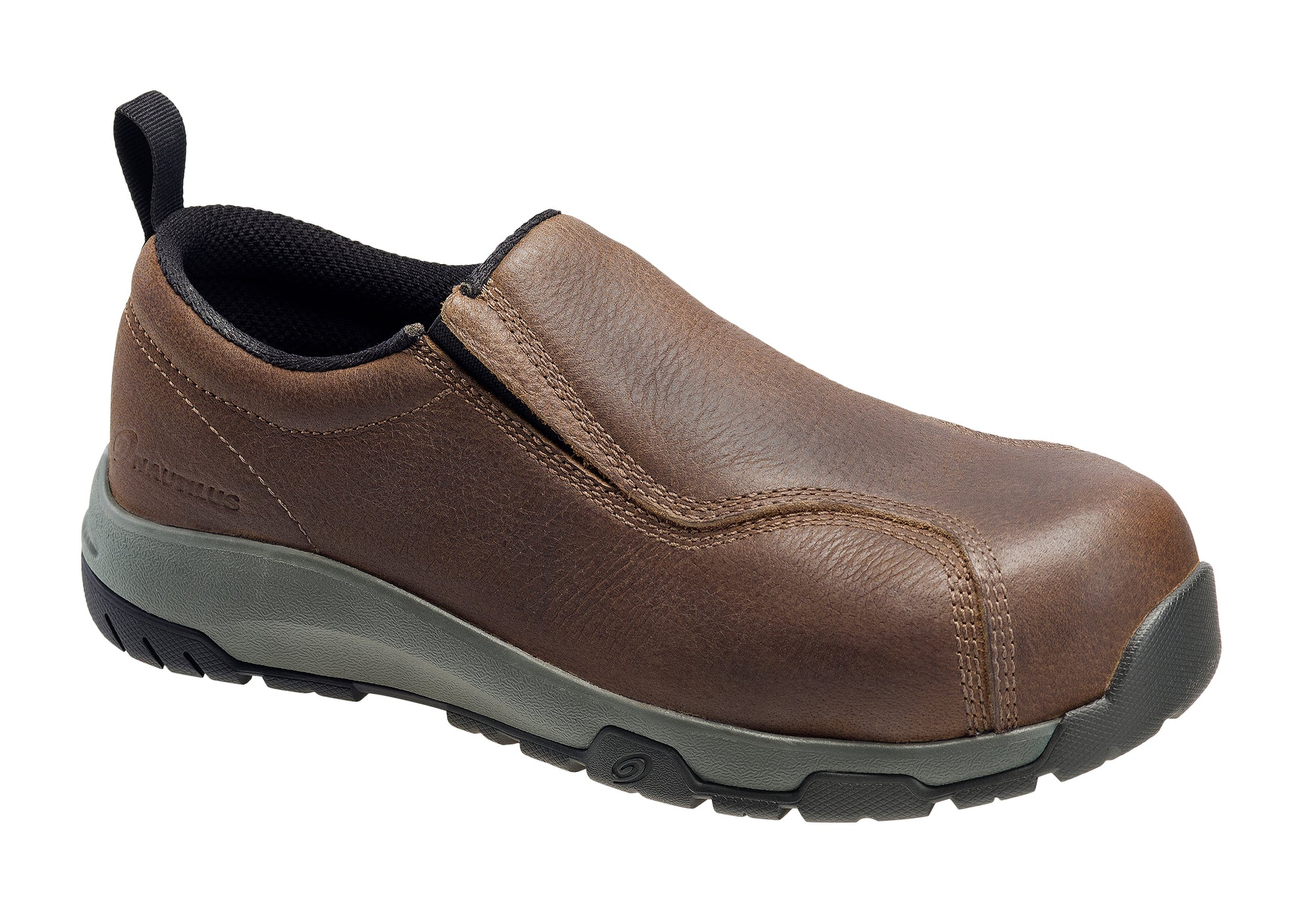 Brown Carbon Toe SD10 Slip On Work Shoe