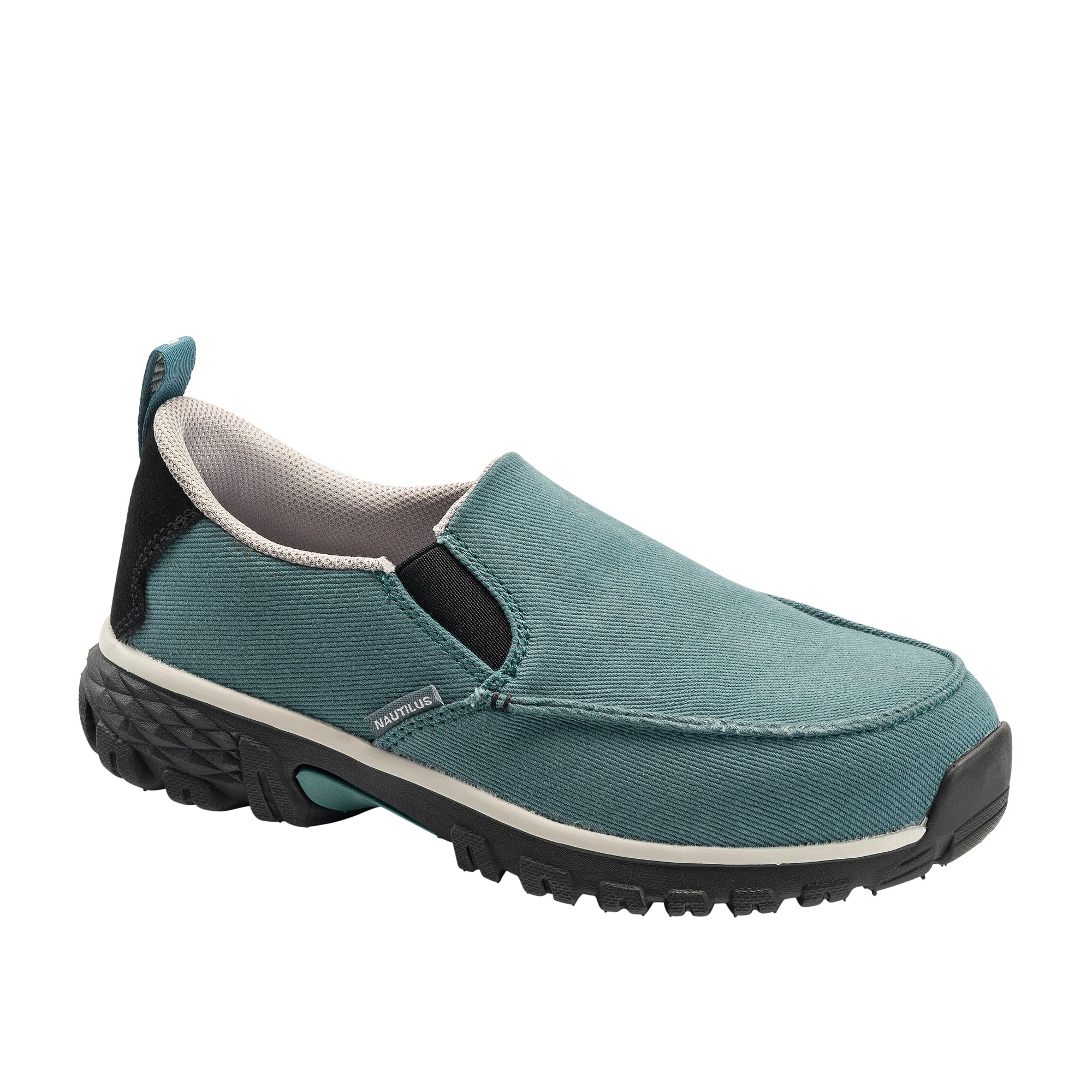 Women's Breeze Laguna Blue Alloy Toe SD10 Slip-On Work Shoe