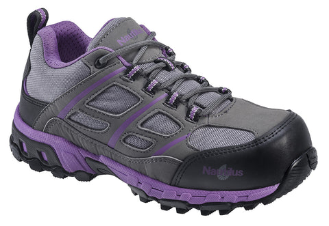 Women's ESD Carbon Composite Fiber Ultra Light Weight Safety Shoes