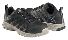 Women's Stratus Black Composite Toe EH Athletic Work Shoe