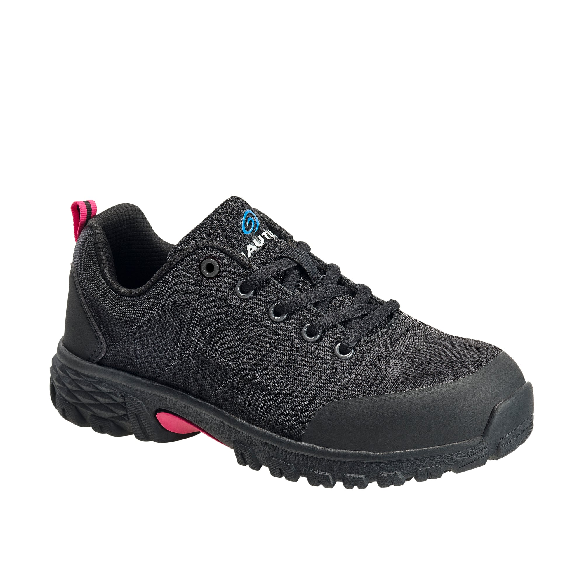 Women's Spark Black Alloy Toe SD10 Athletic Work Shoe