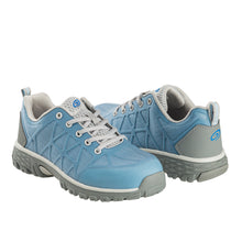 Women's Spark Blue Alloy Toe SD10 Athletic Work Shoe