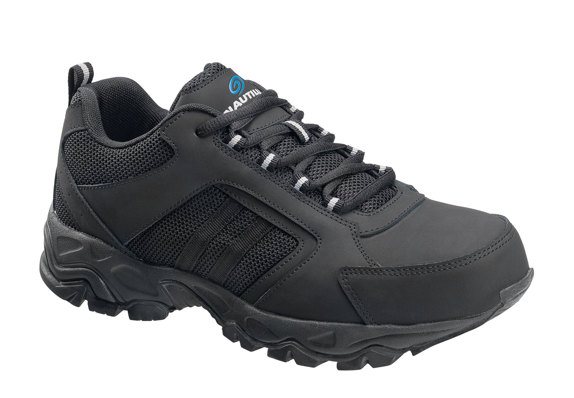 Guard Black Steel Toe EH Athletic Work Shoe