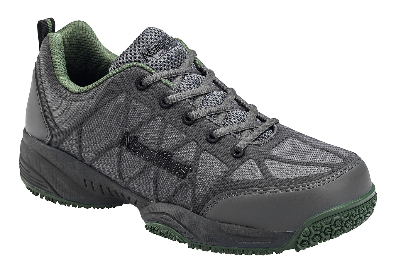 Pulse Grey Composite Toe EH Athletic Work Shoe