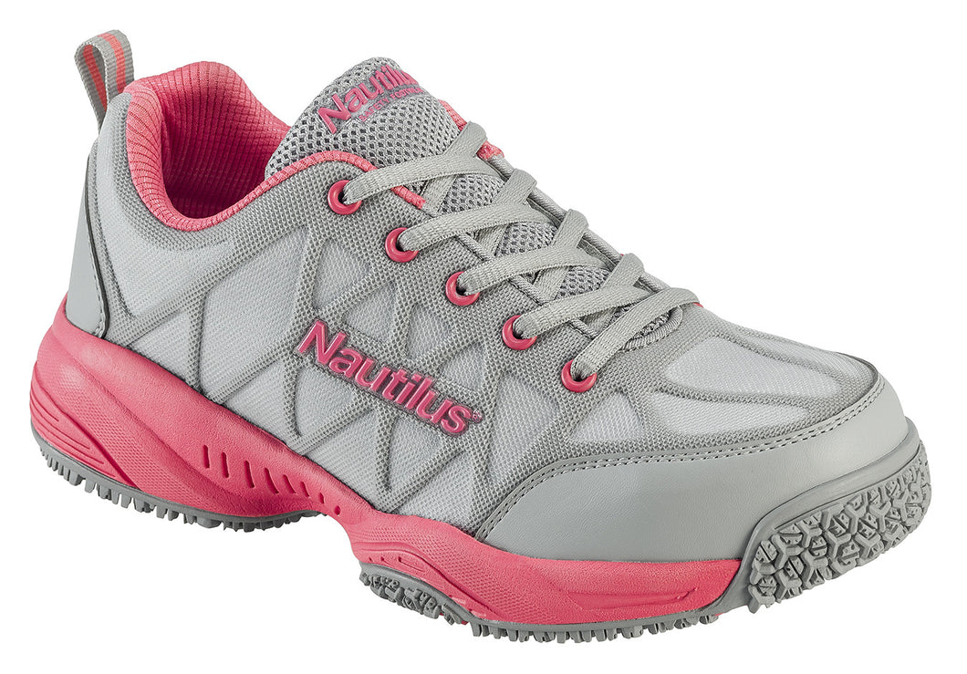 Women's Comp Toe Light Weight Slip Resistant Safety Toe Athletic