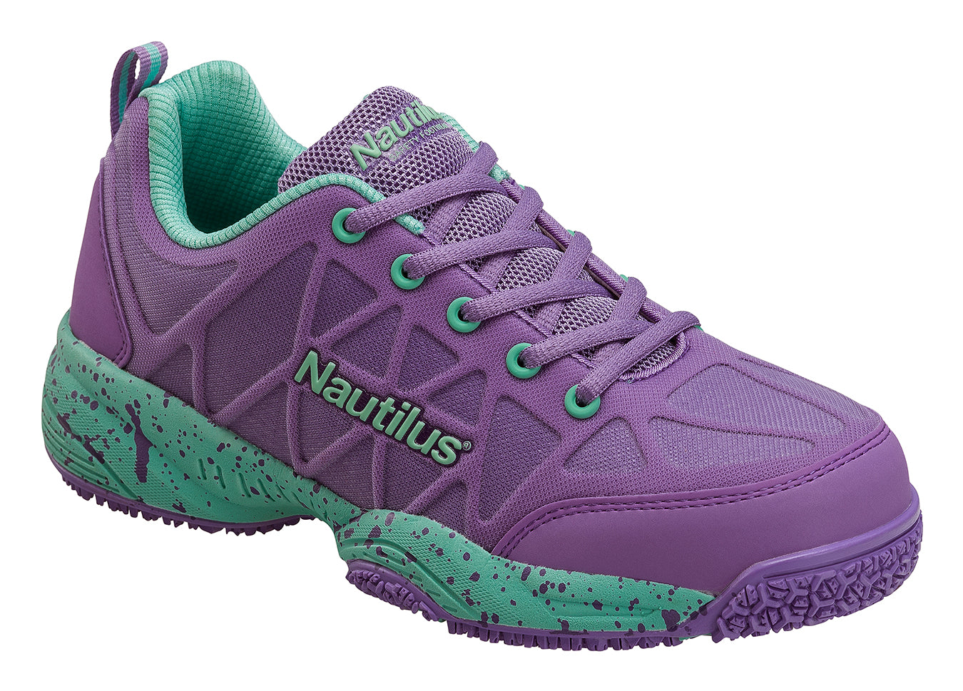 Women's Pulse Purple Composite Toe EH Athletic Work Shoe
