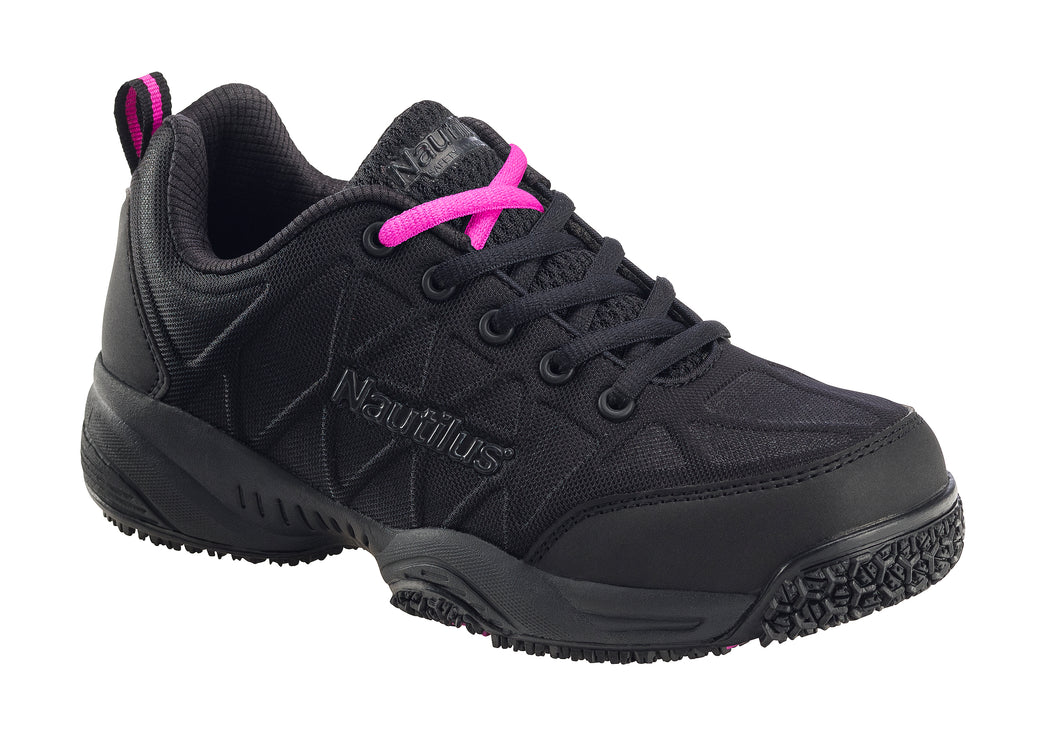 Women's Pulse Black Composite Toe EH Athletic Work Shoe