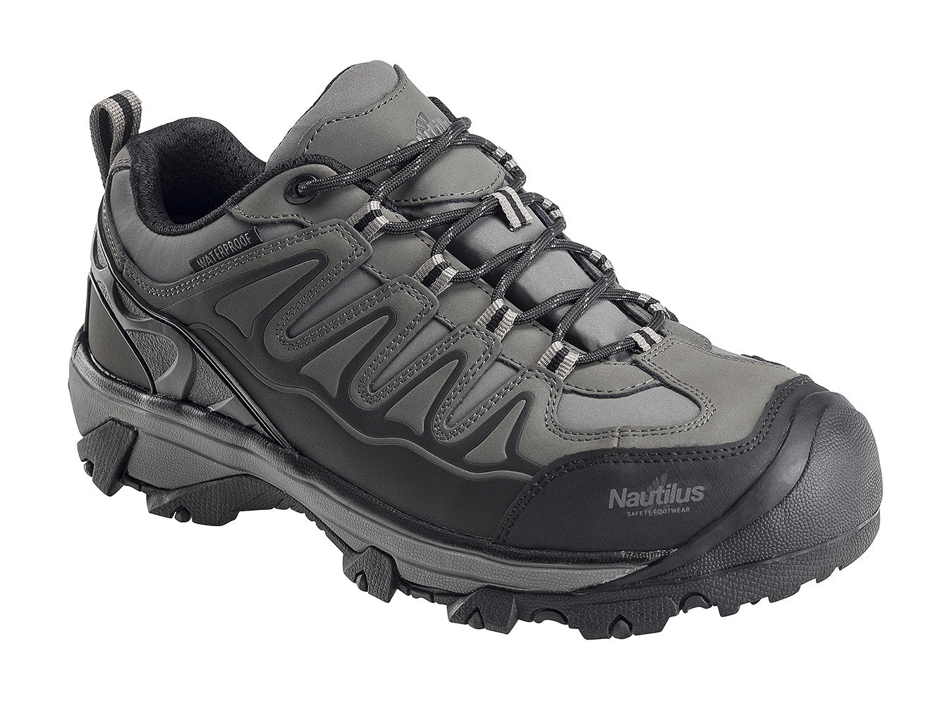Specialty EH Grey Steel Toe EH WP Athletic Work Shoe