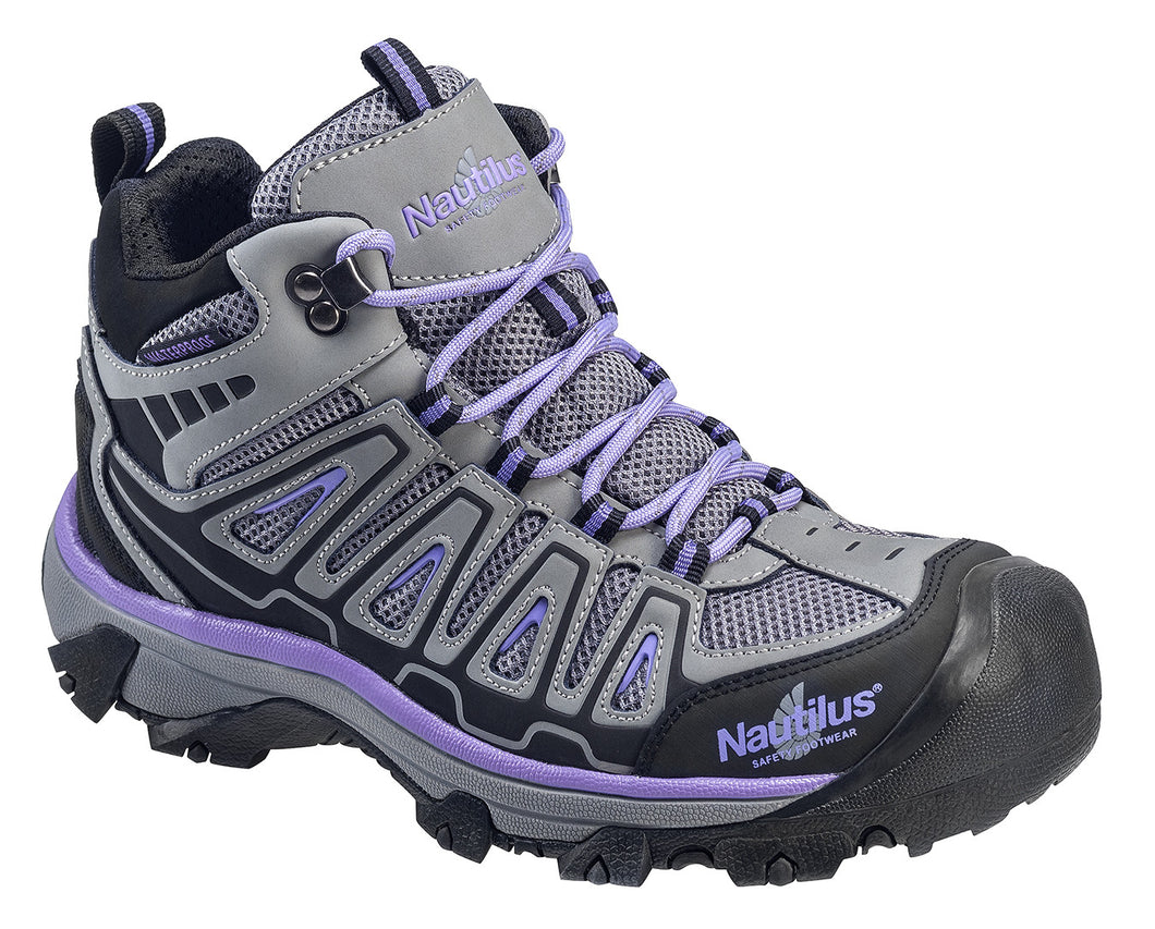 Women's Light Weight Mid Waterproof Safety Toe Hiker