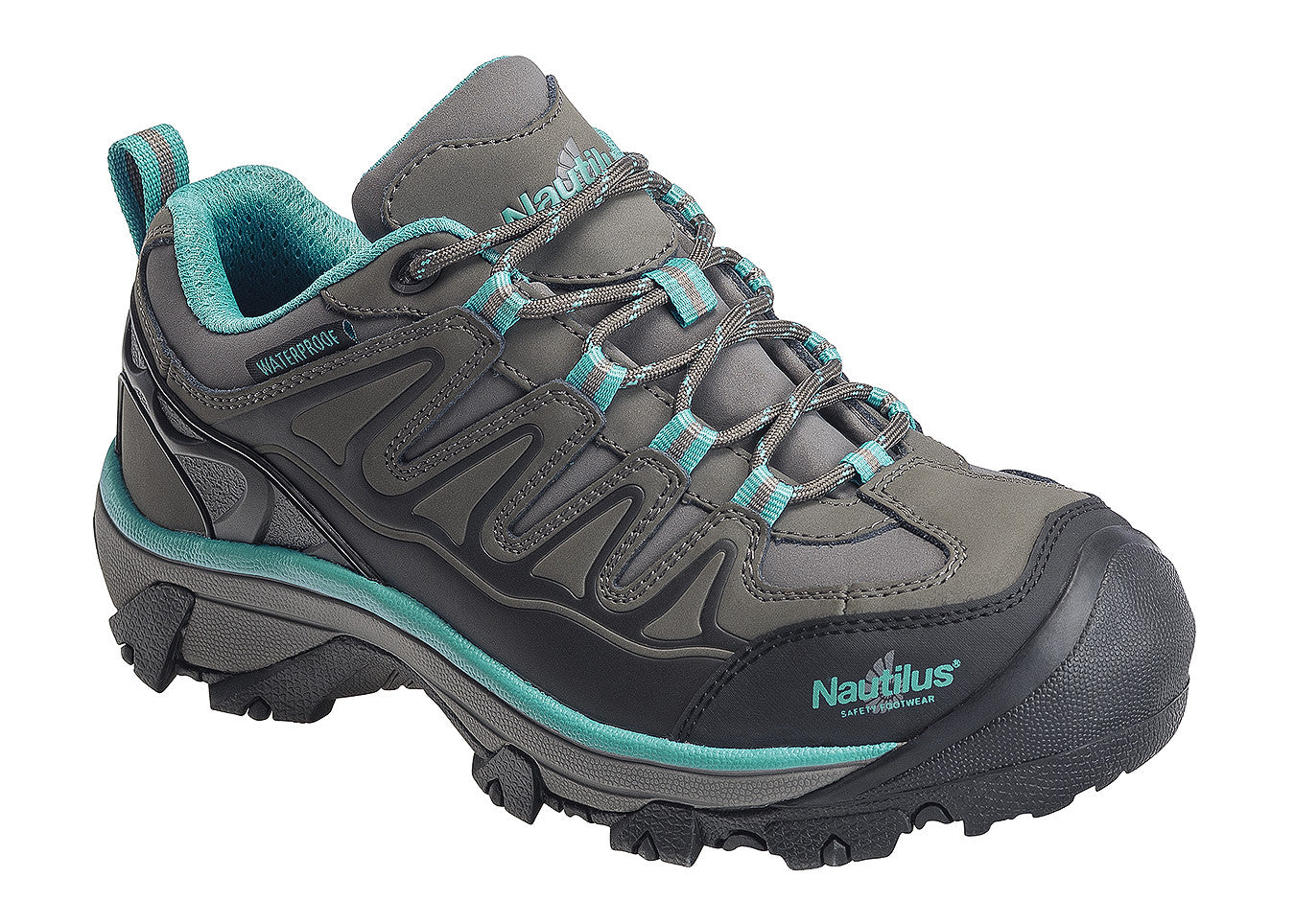 Women's Specialty EH Grey Steel Toe EH WP Athletic Work Shoe