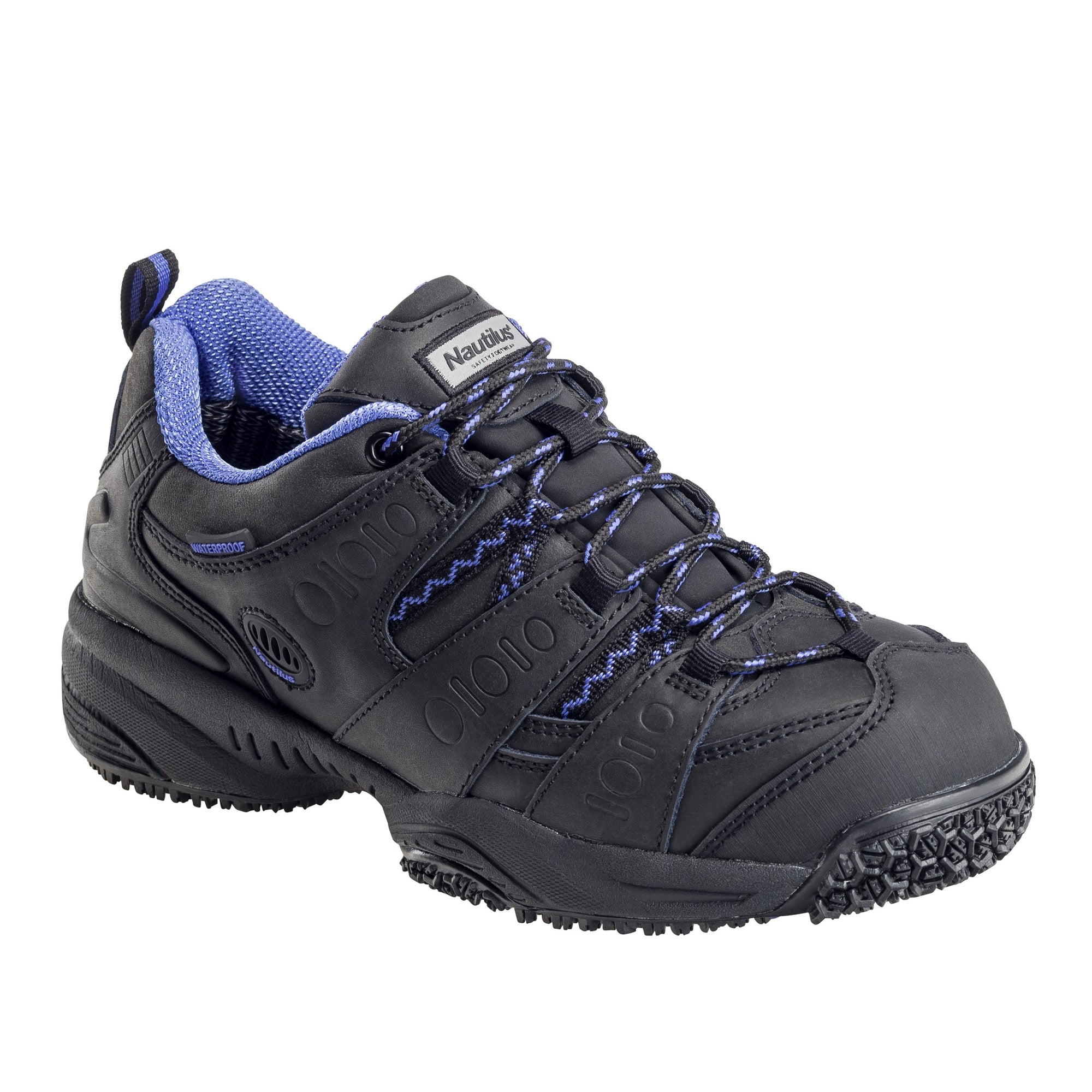 Women's Guard Black Composite Toe EH WP Athletic Work Shoe
