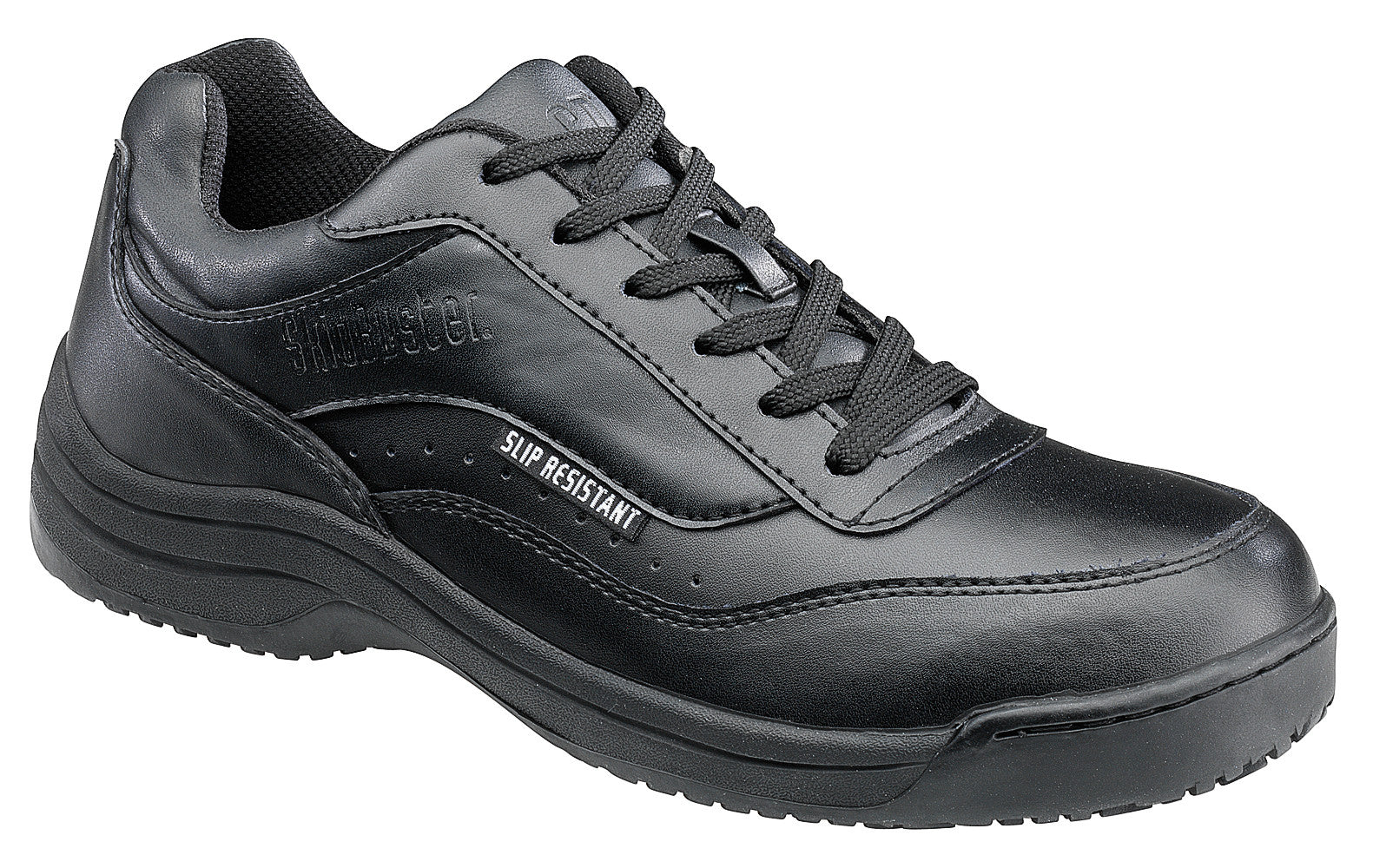 Women's Leather Slip Resistant Athletic